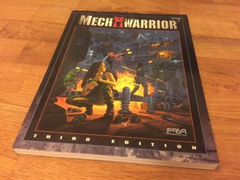 Mech warrior, Third ed. Rollspel