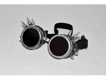 Steampunk gogggles - Silver