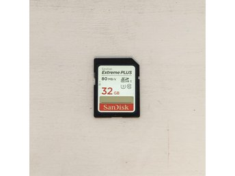 SanDisk 32GB Extreme Plus 80MB/s SDHC