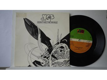 "Yes - Don´t Kill The Whale     7""   1978"