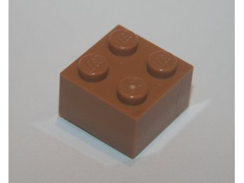LEGO - Bit - 2x2 - Medium Dark Flesh - 3003 - 6058085