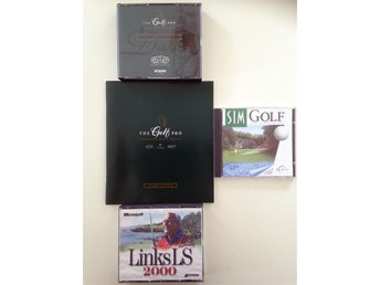The Golf Pro + Links LS 2000 + Sim Golf golfspel för PC Win 98/XP