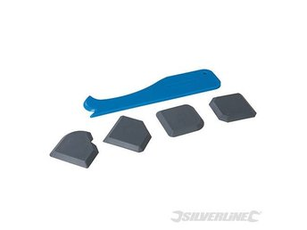 Joint Smoothing Kit 5pce for bathroom kitchen silicone applications 343837