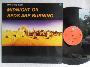MIDNIGHT OIL - BEDS ARE BURNING - CBS 651015 6
