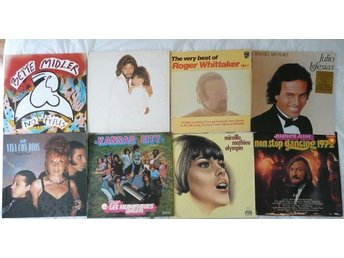 Paket med 8 lp-Easy - Julio I,Vaya ConDios,Mariell M,James Last,Whittaker