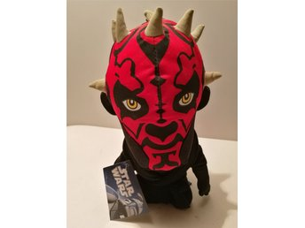 Star Wars Darth Maul Mjuk Figur Mjukis Clone Wars