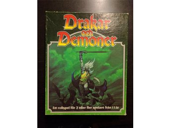 Drakar & Demoner 4.1 original box inkl allt