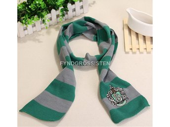 Harry Potter Slytherin Scarf Fri Frakt Helt Ny