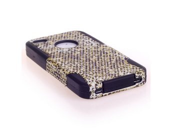Savannah Tronic (Gul Leopard) iPhone 4/4S Skal