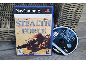 Stealth Force: The War on Terror PS2 Playstation 2 Fint Skick