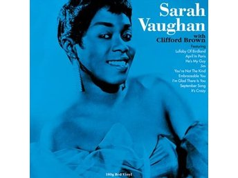 Vaughan Sarah: With Clifford Brown (Red) (Vinyl LP)