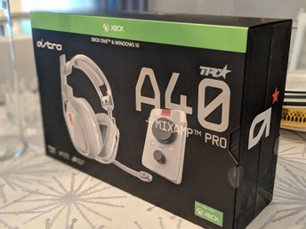 ASTRO GAMING A40 TR + Mixamp pro. Gaming headset PC/Xbox