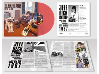 Jeff Beck Group: Live On Air 1967 (Red) (Vinyl LP)