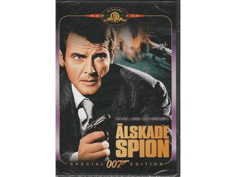 Älskade spion - The Spy Who Loved Me (Roger Moore) 1977 - DVD NY