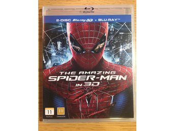 Blu-ray: The Amazing Spider-Man in 3D , 2 disc