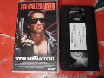 THE TERMINATOR, VHS, FILM, 103 MIN., SCIENCE FICTION ACTION