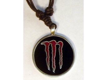 MONSTER NYTT  HALSBAND  TENN