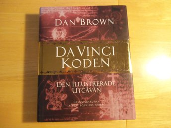 Dan Brown - Da Vinci Koden - Den illustrerade utgåvan