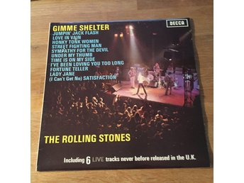 THE ROLLING STONES - GIMME SHELTER. (LP)