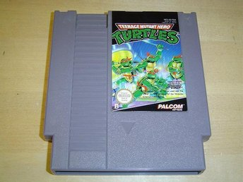 Turtles Nintendo 8-Bit NES PAL-B