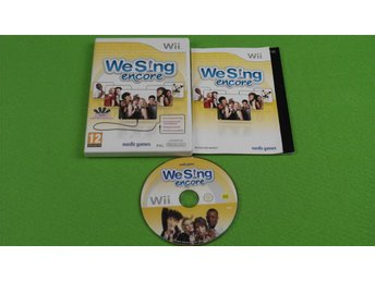 We Sing Encore Nintendo Wii - Hägersten - We Sing Encore Nintendo Wii - Hägersten