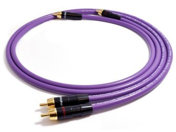 "High-Fidelity Audio RCA Kablar 2x0,5m ""MELODIKA""  Purple Rain Series"