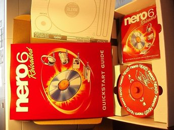 Nero 6 Reloaded med with free CD and DVD Labeling Kit