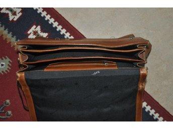 Leather handbag profolio bag - Uppsala - Leather handbag profolio bag - Uppsala