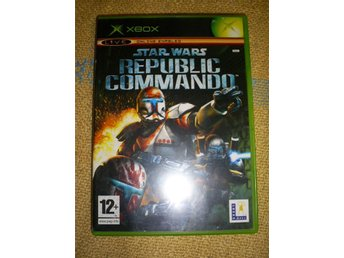 STAR WARS ,REPUBLIC COMMANDO,FUNGERAR PERFEKT,XBOX