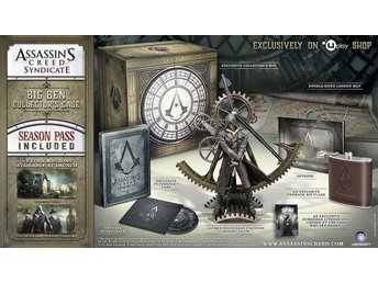 Assassins Creed Syndicate Big Ben Case Collectors Edition Xbox One spel NYTT