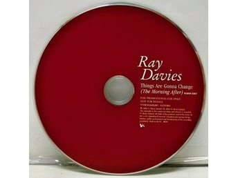 CD-singel Ray Davies Things are gonna change (The morning after) promo