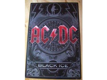 AC/DC Black Ice (poster, affisch) 61x91 cm HÅRDROCK ACDC - Halmstad - AC/DC Black Ice (poster, affisch) 61x91 cm HÅRDROCK ACDC - Halmstad