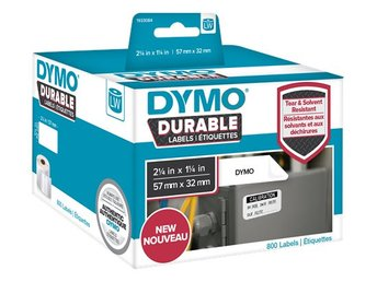DYMO LW Durable medium multi-purpose 57mm x 32mm, 800 etiketter