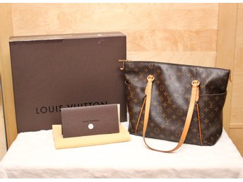 Louis Vuitton Totally MM i monogram canvas med kartong, dustbag och kvitto.