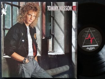 TOMMY NILSSON (M-) – It! / Vinyl LP 1988 / A TOP COPY!!