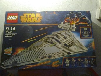star wars 75055 imperial star destroyer med vader ny oöppnad