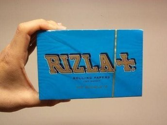 Rizla Blå Rullpapper DISPLAY 100st (rull papper tobak cigarett cigaretter)