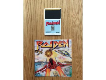 Raiden turbografx PC engine