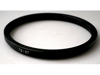 72 mm - 67 mm step-down ring