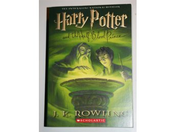 Ny oläst HARRY POTTER AND THE HALF-BLOOD PRINCE J K Rowling Tryckt år 2006