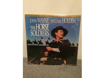 The horse soldiers US LASERDISC  John Wayne William Holden