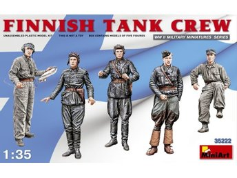 Miniart 1/35 Finnish Tank Crew