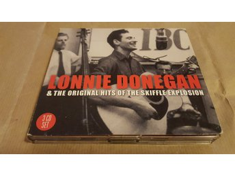Lonnie Donegan–Lonnie Donegan & the Original Hits of the Skiffle Explosion(3CD)