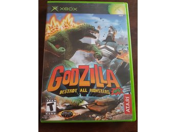 Xbox - Godzilla Destroy All Monsters - ny skick!