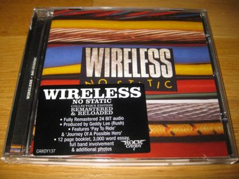 WIRELESS - No static CD 1980/2012 / Remaster / Rock Candy
