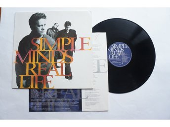 ** Simple Minds ‎– Real Life **