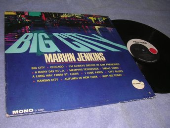 Marvin Jenkins - Big City (LP) US org 60s EX/EX ovanlig!!
