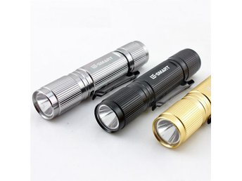 LED Ficklampa CREE - 260LM - Silver Edition