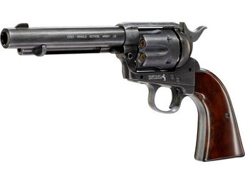 Kolsyredriven Luftpistol Colt Single Action Army 45 antik finish inkl. Frakt