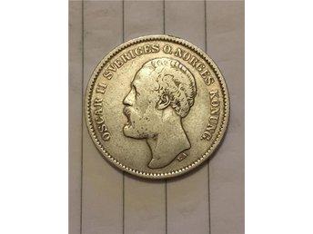 Oscar II 2 kr 1877 - Kungälv - Oscar II 2 kr 1877 - Kungälv